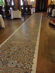 1900, Comillas combinado con el Vodevil BeigeProyectos porcelánico, revestimiento y pavimento | Vives Azulejos y Gres