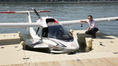 One startup wants to turn flying into the new motor sport, and it already has an impressive backlog of orders. I got to go for a spin. Sea Plane, Float Plane, Medan, Light Sport Aircraft, Amphibious Aircraft, Flying Vehicles, Experimental Aircraft, Flying Boat, Aircraft Design