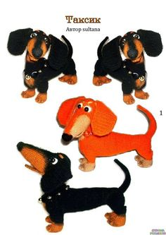 Страна рукоделия Crochet Doll Pattern, Crochet Toys Patterns, Stuffed Toys Patterns, Doll Patterns, Pet Toys, Baby Toys, Kids Toys, Needle Felted Animals, Felt Animals
