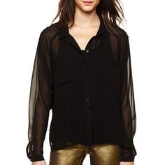 I jeans by buffalo sheer #blouse #top $20