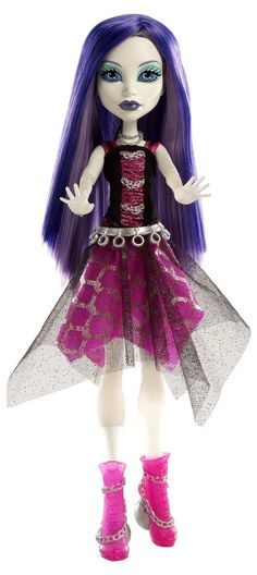Monster High Ghoul's Alive Doll Spectra Vondergeist: Daughter of a Ghost