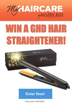 How Awesome would it be to Win a GHD Beauties...Head to My Hair Care on facebook to find out how  :D