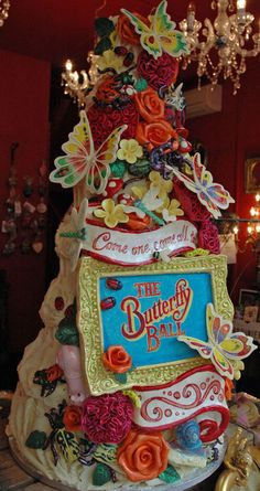 Oh..Y'know. Just a cake. Nothing special. Unless you DON'T work at Choccywoccydoodah.