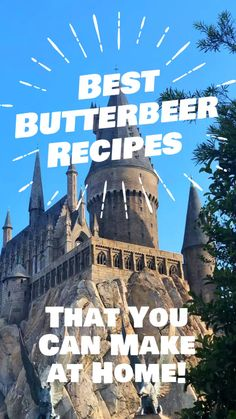 There are a ton of Butterbeer recipes online for you to enjoy when you get home from your Orlando Florida vacation or for a Harry Potter party. Best Vacation Destinations, Best Vacation Spots, Florida Vacation, Florida Travel, Vacations, Universal Studios, Universal Orlando, Butterbeer Recipe, Easy Meals For Kids
