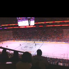 Go to a Philadelphia Flyers game IN Philly.
