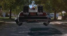 DeLorean time machine, Back to the Future hover conversion