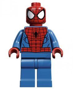 Les super héros en Lego
