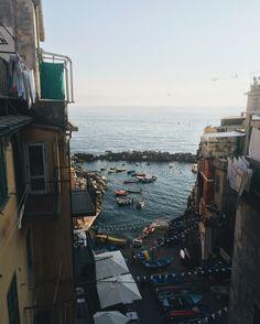 Cinque Terre, Italy / photo by uniquelapin