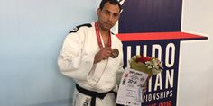 ... , Ibrahim Khalaf has become the first Jordanian to qualify for the judo…