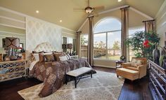 Master Bedroom Cinco Ranch Southwest: Renaissance Collection By Our Village Builders Brand
