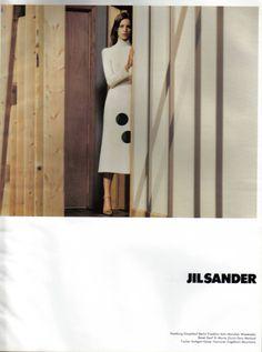 jil sander, 2000