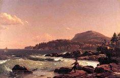 Frederic Edwin Church - Newport Mountain, Mount Desert