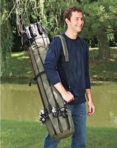 Portable Fishing Rod Case Carrier Holder Rack Hooks Pole Storage Organizer Strap | Sporting Goods, Fishing, Fishing Equipment | eBay!