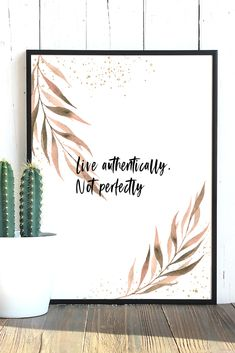 Cute printable wall art. This inspirational watercolor quote print will add a splash of color to your living room, bedroom or office. It is available as a digital download in 4 different sizes: 5 X 7 inches, 8 X 10 inches, European standard A4 and US letter (8.5 X 11 inches). After purchase you can download the picture and print it as many times as you want :) Color may vary from monitor to monitor. Personal use only, no reselling. All Poster, Posters, Quote Prints, Art Prints, Watercolor Quote, Wall Decor Quotes, Pink Lotus, Affordable Art, Botanical Prints
