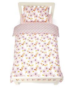 Patternology (Bird) - Single Bed Duvet Cover & Pillowcase Set