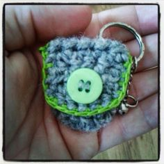 Crocheted coin pouch!