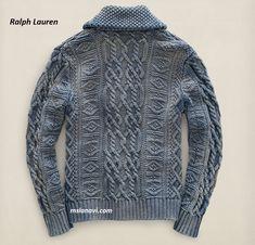 Вязаный жакет для мужчин от Ralph Lauren http://mslanavi.com/2016/03/vyazanyj-zhaket-dlya-muzhchin-ot-ralph-lauren/