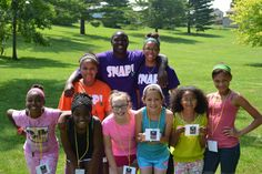 Look at all of these great smiles!  SNAP Junior Leaders and Camp Connection Kids learn and have fun.