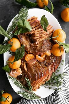 10 reviews · 6 hours · Gluten free · Serves 10 · This Slow Cooker Ham with Marmalade Glaze is the perfect holiday ham recipe.