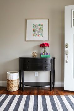 6th Street Design School | Kirsten Krason Interiors : The Story of a Room: The Finished Office, Entryway and Living Room!