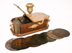coin operated Gloriosa disc music box