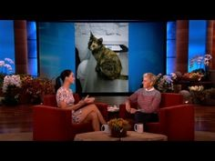 Her cat, Cleo (: