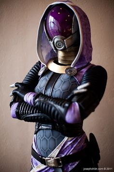 Tali'zorah vas Normandy, Mass Effect  cosplay by Jennifer Barclay.