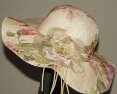 Sombrero Estampado muy veraniego ideal para la playa