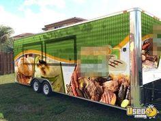 Florida Food Concession Trailer Mobile Kitchen For Sale!