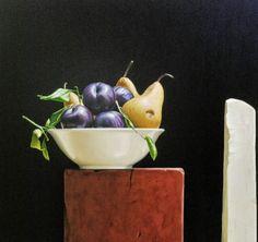 Pintura y Fotografía Artística : Hiperrealismo en el Bodegón al Óleo, David De Biasio