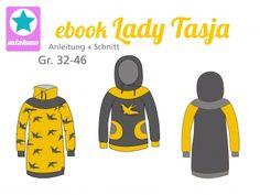 Ebook Hoodie und Sweatkleid Lady Tasja Gr.32-46