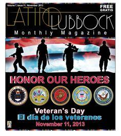 November LLM, Vol 7, Issue 11  #LatinoLubbock   www.LatinoLubbock.net