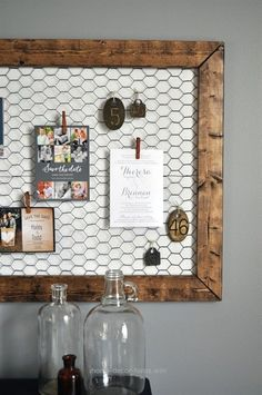 Splendid Idea for a way to hang Christina's antique kitchen gadget collection  The post  Idea for a way to hang Christina's antique kitchen gadget collection…  appeared first on  Home Decor For  ..