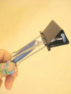 Binder clip razor cover! :)