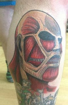 1000 images about tattoos on pinterest attack on titan for Attack on titan tattoo
