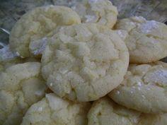 Lemon Crinkle Cookies - award winning