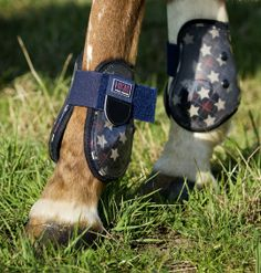 HKM SPORTS EQUIPMENT - Fetlock Boots Stars