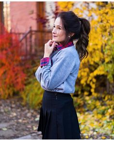 Image de autumn, beautiful, and beauty Emma Verde, Tennis Skirts, Fall Photos, Emma Watson, Youtubers, We Heart It, Autumn, Celebrities, Outfits