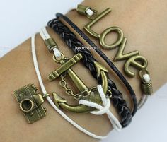Kama  copper anchor bracelet restore ancient ways by itouchsoul, $5.99