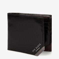 KORNING二つ折財布 ブラック テッドベーカー  TED BAKER オンライン通販【テッドベーカースタイル】