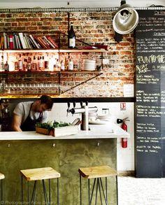 Vogue Living Blog; Bones Restaurant in Paris