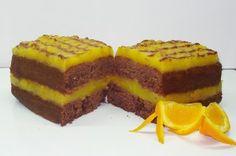 Κέικ σοκολάτας με πορτοκάλι