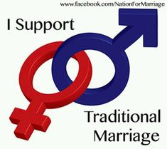 I Support Traditional Marriage