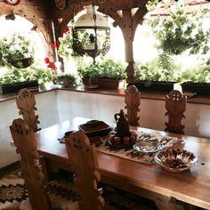 Manastirea Barsana Country Living, Romania, Ethnic, Table Settings, Dining Table, Rustic, Furniture, Beautiful, Instagram