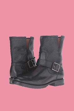 feedd25c3a7 Frye Natalie Short Engineer Boots. This classic style got a feminine update  with its rich