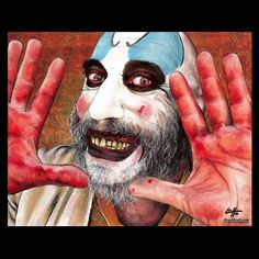 85 Best Captain Spaulding Images Horror Films Horror Movies