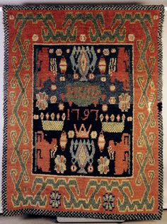 Discount Carpet Runners For Hall Textile Texture, Art Textile, Scandinavian Embroidery, Rya Rug, Animal Rug, Peg Loom, Book Of Kells, Magic Carpet, Historia