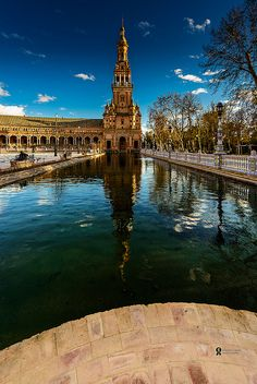 Plaza de Espana, Spain