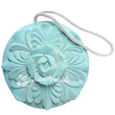 """Molde para #hacerambientadores decorativo """"Redondo Flor"""" apto para #hacermanualidades resina, escayola, cera, jabón.. #DIY"""