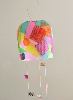 Kids make colorful lanterns from giant mayonnaise jars. Art Activities For Kids, Preschool Crafts, Kids Lantern, Diy For Kids, Crafts For Kids, Mobiles For Kids, Cardboard Box Crafts, Kindergarten Art Projects, Recycled Art Projects